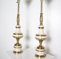 Pair of 1950's Stiffel Lamps at 1stdibs