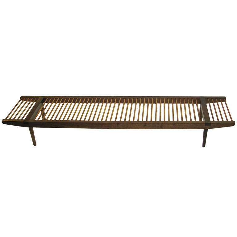 milo baughman bench
