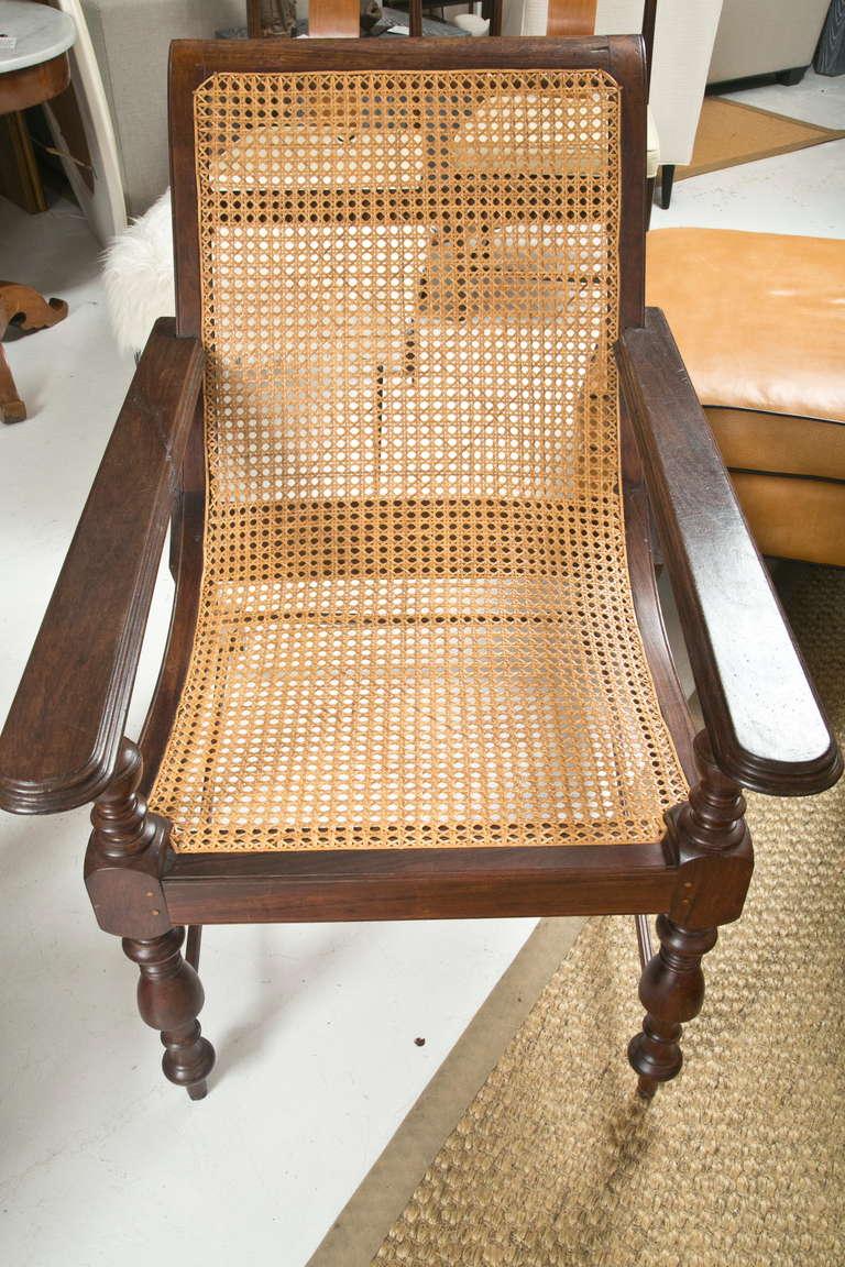 1960s British Colonial Plantation Chair at 1stdibs