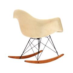 Metal Rocking Chair Runners Wooden Lounge Herman Miller Eames Zenith Rar At 1stdibs
