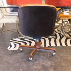 Office Chair Velvet Best Zero Gravity 1970s Desk By Ward Bennett At 1stdibs