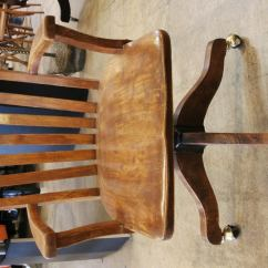 Old Wooden Desk Chair Making Dining Room Covers Chairs Wood Interior Decorating