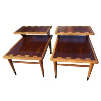 Pair of Mid Century Modern Lane Acclaim End Tables at 1stdibs