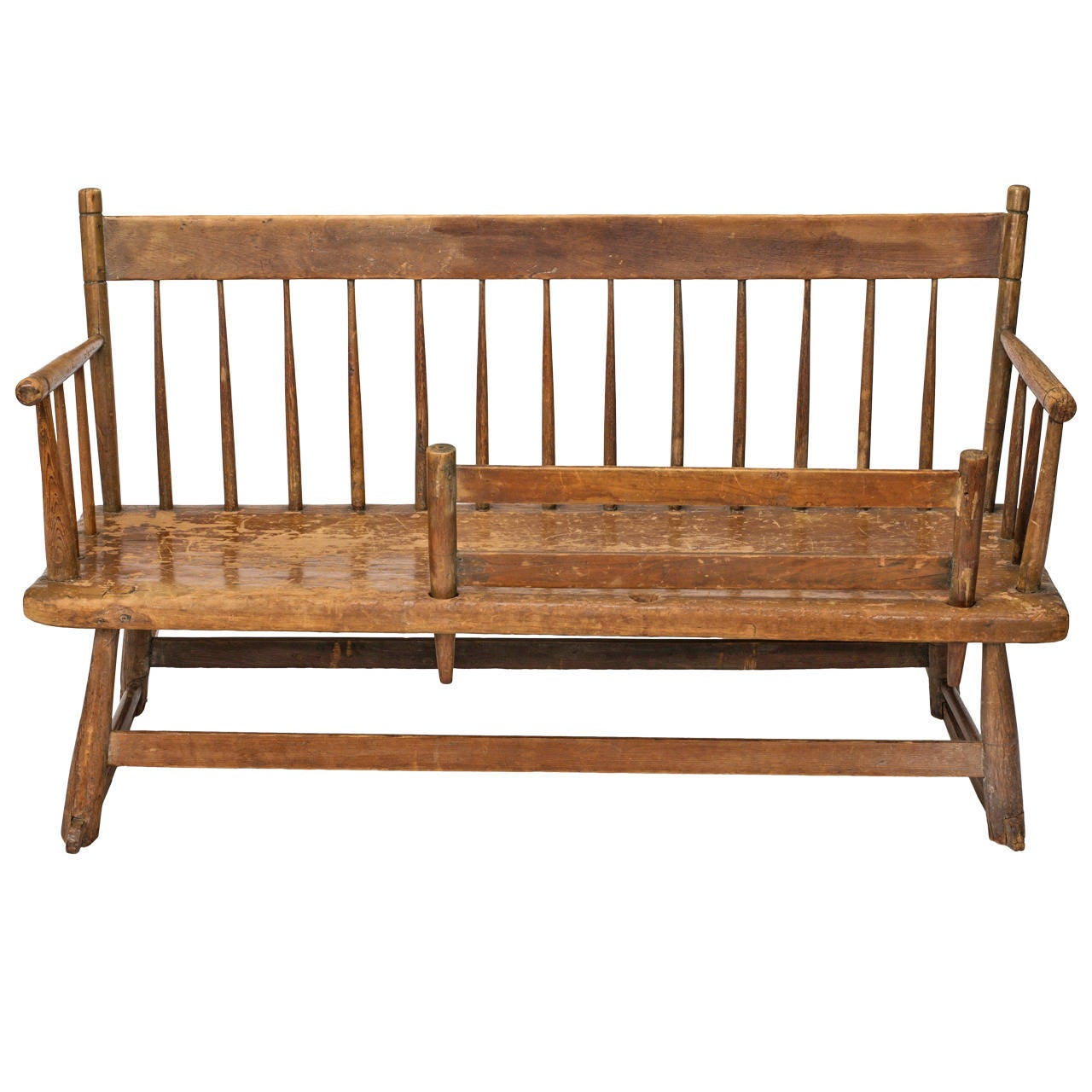 rocking chair cradle hanging patio early american mammy 39s rocker bench circa 1830s at 1stdibs