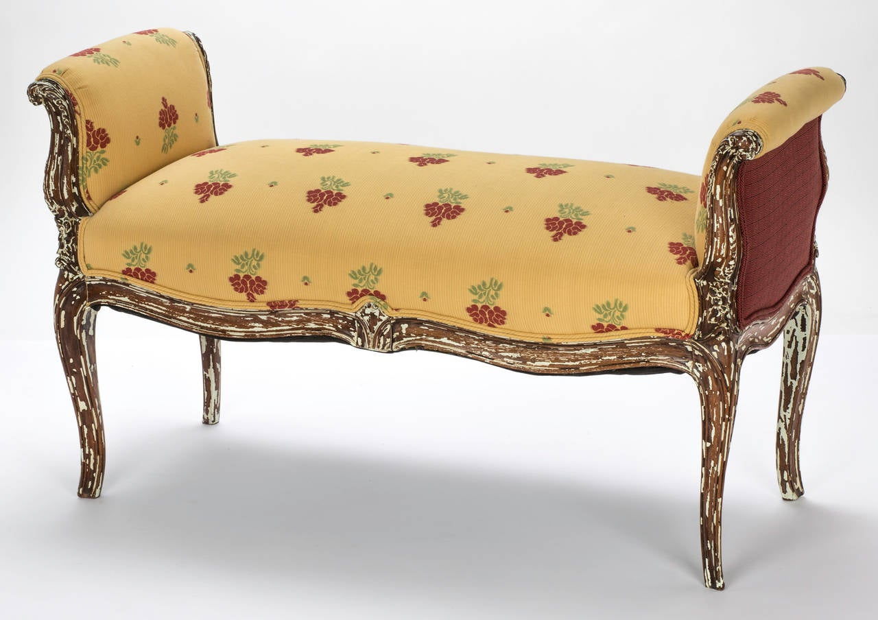 country french chairs upholstered ikea henriksdal chair cover bench with arms circa 1920s at