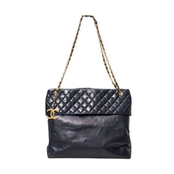 Vintage Chanel Tote Bag