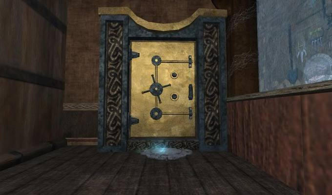 Entrance to the treasure vault
