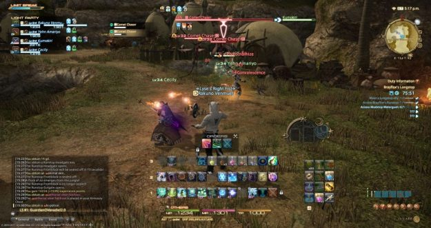 FFXIV] Doing dungeons with the Adventurer Squadron – Shards