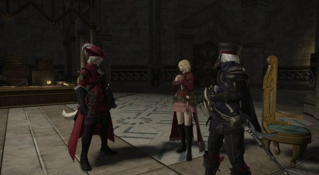 Arya and Rakuno are shocked by X'rhun's exposition dump!