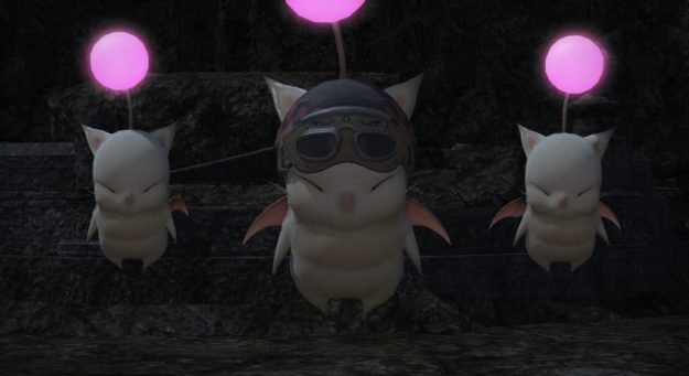 The moogles from the Moogle's Tribe Quest