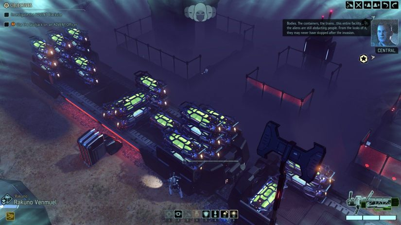 Central Commander Bradford commenting how the aliens probably never stopped abducting people after the war.