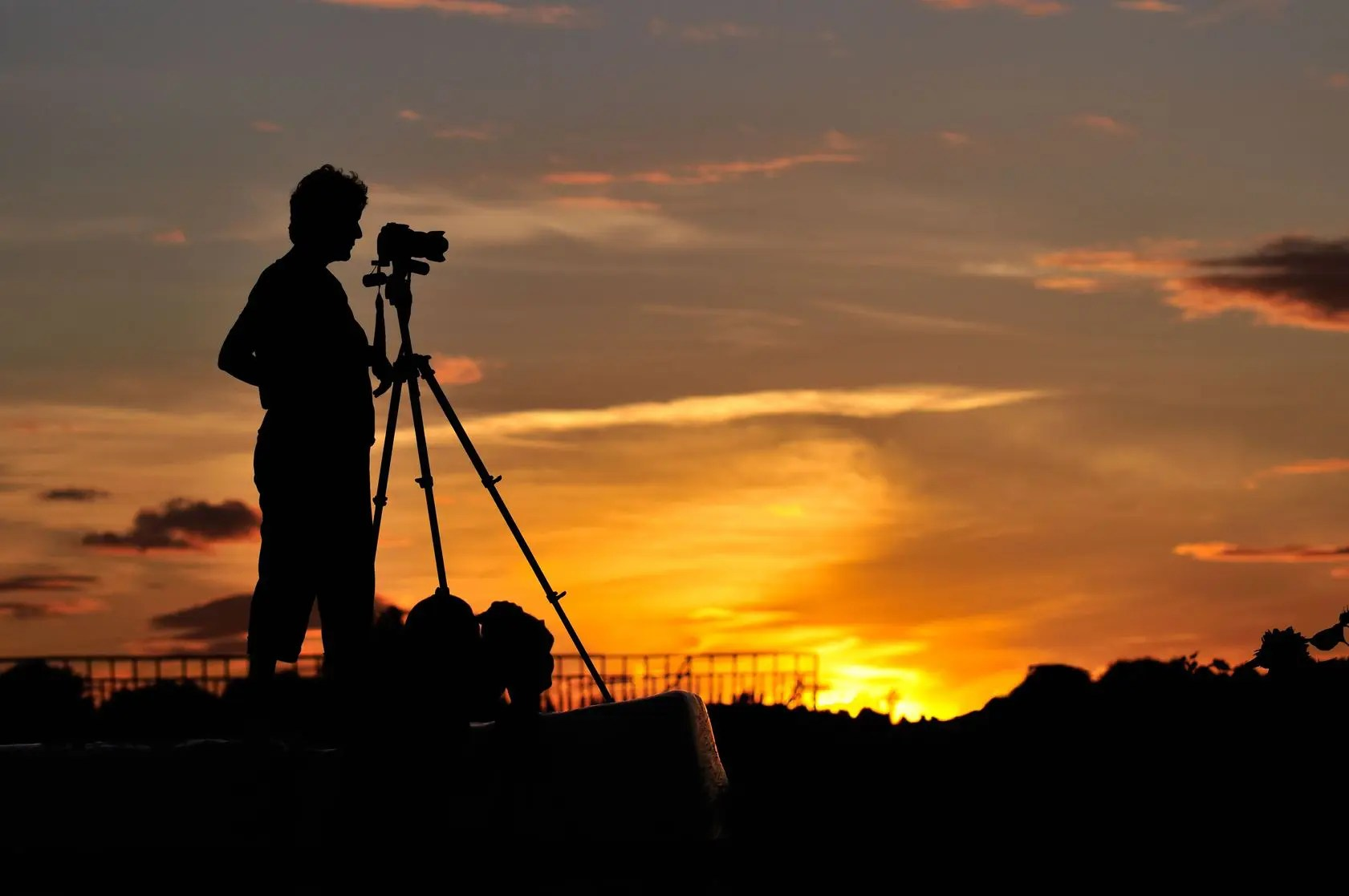 夕焼け撮影
