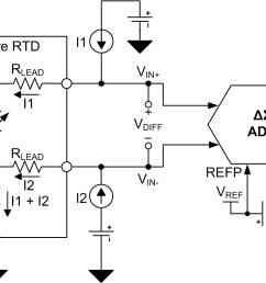 figure 3 three wire rtd circuit with external reference  [ 1159 x 866 Pixel ]