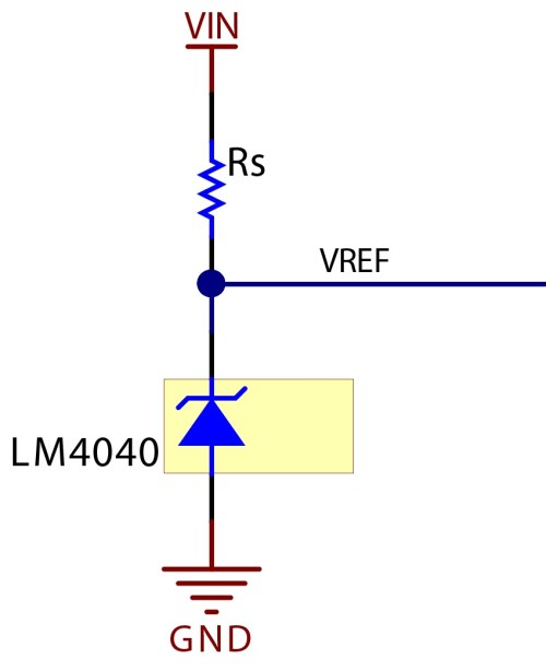 small resolution of figure 3 circuit schematic of a shunt reference