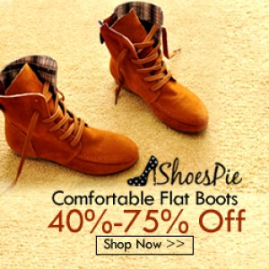 Shoespie Flat Boots Cheap