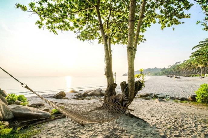 在民丹島上,每個角度都看得到海與美不勝收的熱帶風情,擁有「新加坡後花園」的美稱。