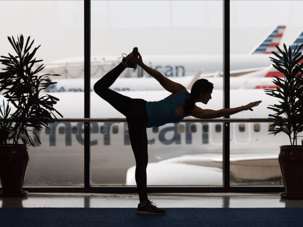 yoga-studio-at-dallas-fort-worth-airport