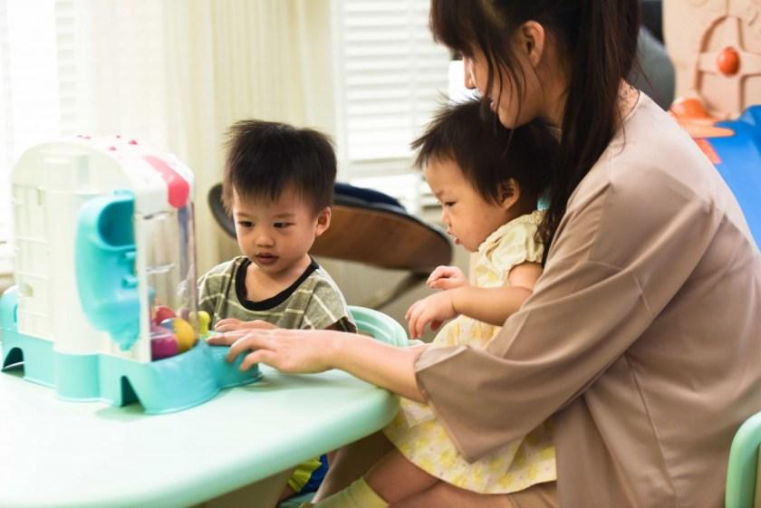 即便創業工作繁忙,Cynthia 還是會盡力撥出時間陪伴一對可愛的兒女