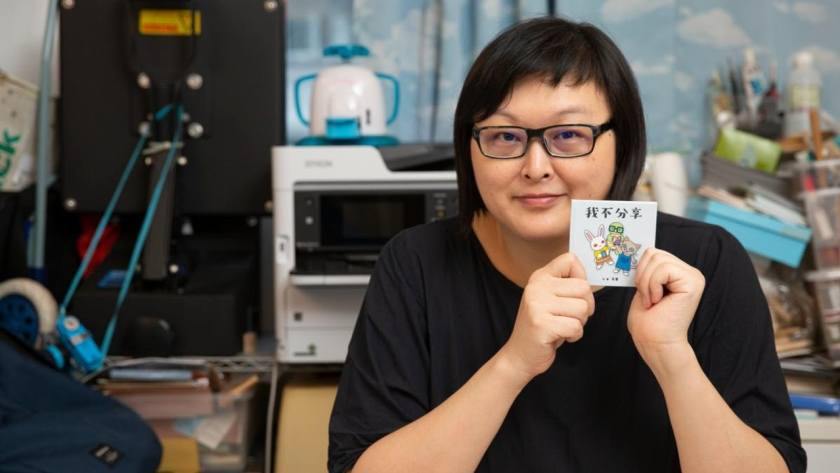 一次日本行,令黃天盈(Tiana)決心把扭蛋豆本引入香港。