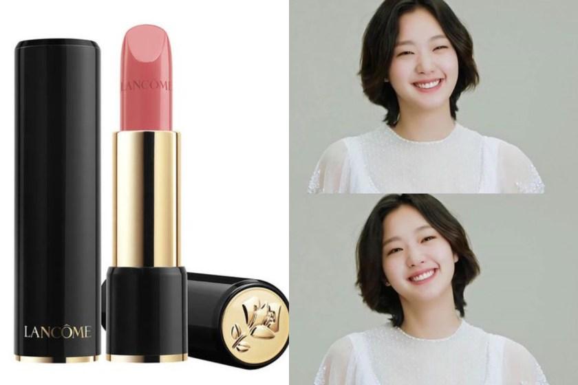 因熱門韓劇《孤單又燦爛的神-鬼怪》女主角金高恩帶動了整個唇膏市場「乾燥玫瑰色」旋風,這支 Lancome 的#264 就是經典。