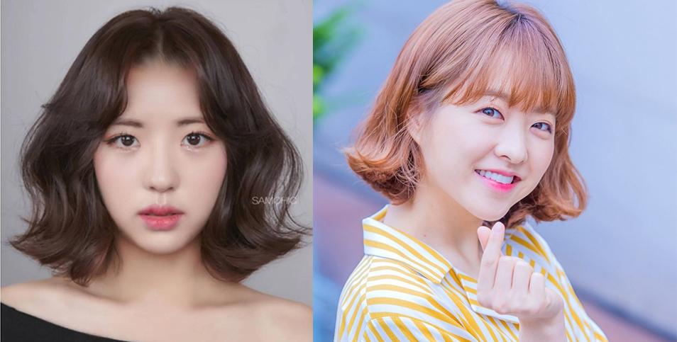 中長髮燙髮圖艦:跟著 2019 年韓妞流行趨勢。從臉型判斷適合哪種造型 | 女子學