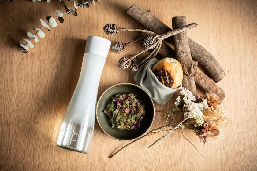 SPARKEAU氣泡水擁有清爽不刺口的特性,沁涼暢快口感為佐餐水最佳選擇