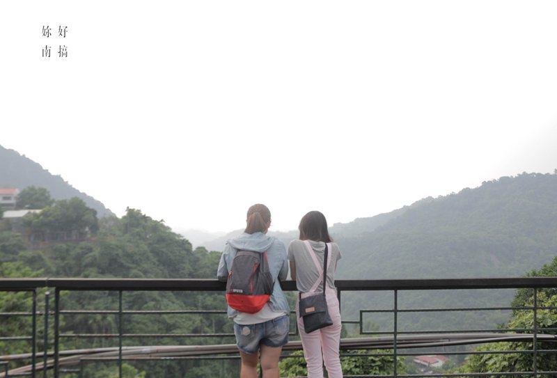 登上好漢波,一覽關子嶺山景,感覺心曠神怡。