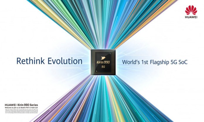 Huawei unveils the latest Kirin 990 processor chipset with 5G technology