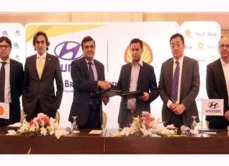 Shell Pakistan and Hyundai Nishat join hands for a landmark partnership