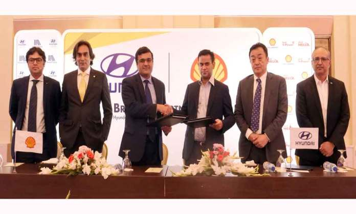 Shell Pakistan and Hyundai Nishat join hands for a landmark partnership
