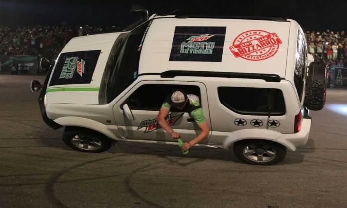 DEW MOTO EXTREME - Pakistan's biggest stunt show