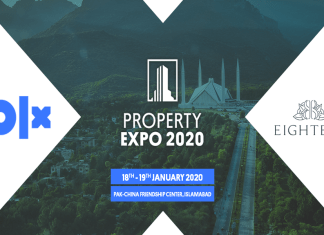 Eighteen Joins Hands With OLX Pakistan For OLX Property Expo 2020