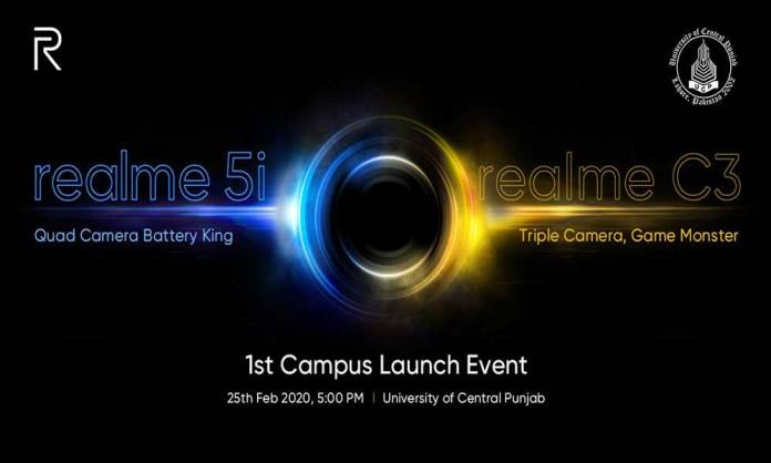 Realme 5i is all set to be launched in Pakistan with Quad Camera