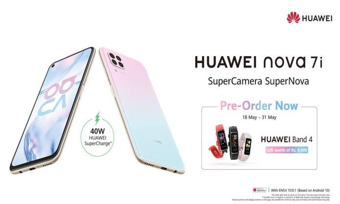 HUAWEI Nova 7i Huawei Pre-orders Opens in Pakistan at Best Price