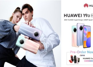 HUAWEI Y9a Opens for Pre-orders Bringing an Amalgamation of Flagship-level Specs to the Y Series Line-up
