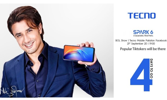 """TECNO """"REAL HERO"""" Spark 6 with Heroic theme is expected to launch on a TV channel"""