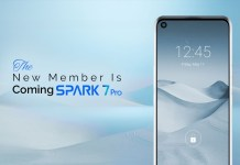 TECNO shall be launching Spark 7 soon in Pakistan!