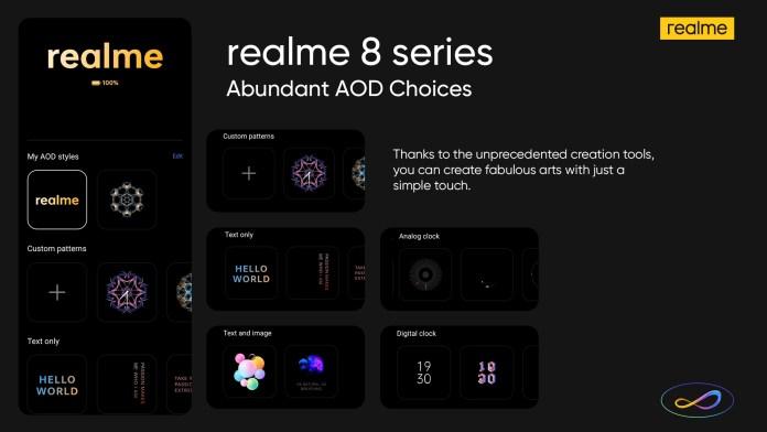 realme 8 features