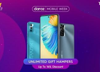 TECNO discount offers on Daraz Mobile Week 2021