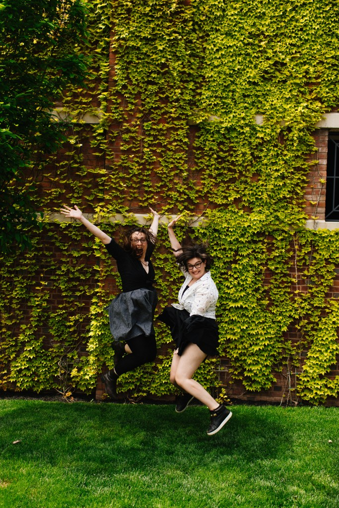 Crazy artists having fun, Princeton, 2017