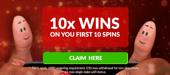 10 x multiplier no deposit bonus
