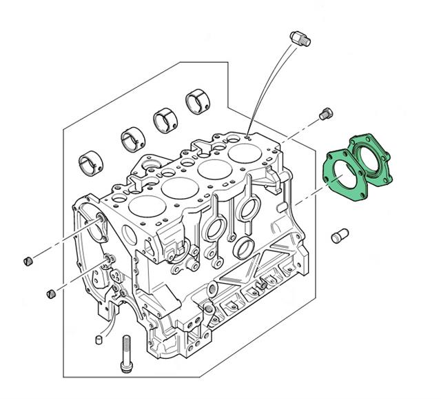 Land Rover 300 Tdi OEM Rear Main Crank Shaft Oil Seal