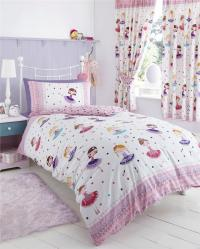GIRLS KIDS BEDDING Pink Duvet Sets Unicorns Horses Owls