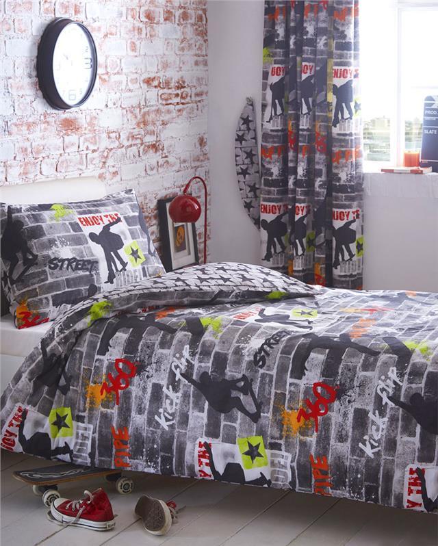BOYS KIDS BEDDING Duvet sets childrens bedroom fun quilt cover bed sets  eBay
