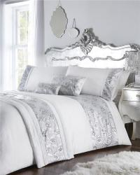 Luxury bed sets with rose gold or silver sequins duvet ...