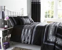 NEW PINTUCK DUVET COVER SETS CUSHIONS MATCHING LINED ...