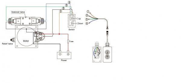12v hydraulic power pack wiring diagram sample