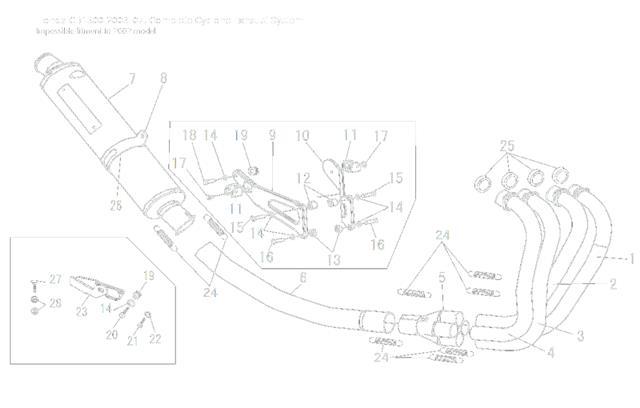 Yoshimura Titanium Cyclone Complete Full Exhaust System