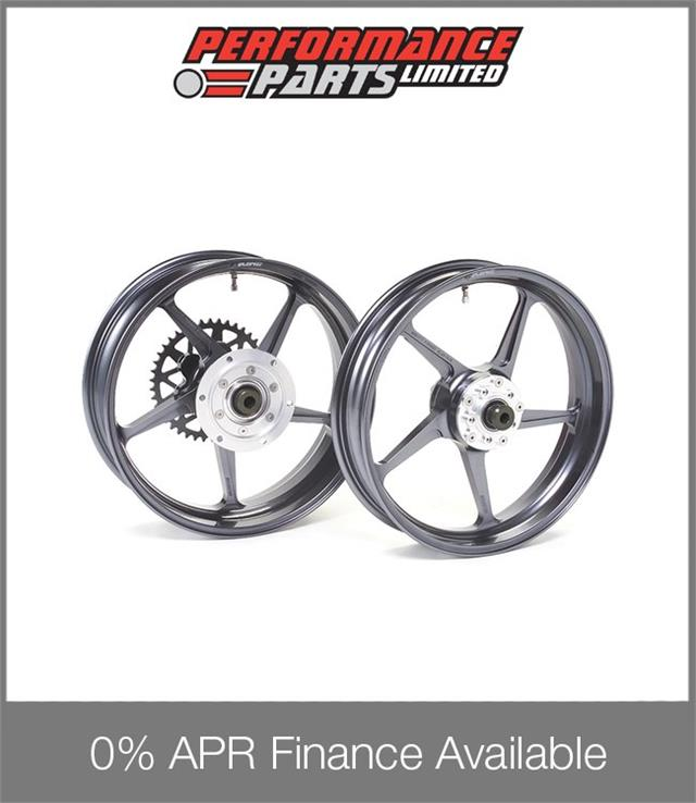 Galespeed GP1SM White Magnesium Wheels Suzuki GSX1400 2001