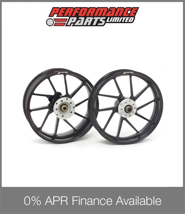 Galespeed Type R 10 Spoke Black Alloy Wheels Honda